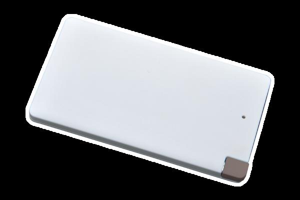 Powerbank P4000, weiß, integriertes Kabel
