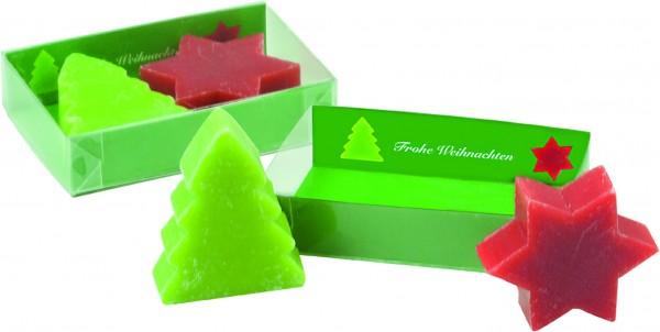 Weihnachtliche Seifen-Träume, 1-4 c Digitaldruck inklusive