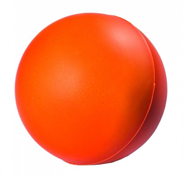SQUEEZIES® Ball Farbwechsel - orange (Größe: ca. 6,3 cm Durchmesser) - optional mit Tampondruck