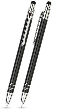 LOLA TOUCH Schwarz glänzender Metallkugelschreiber
