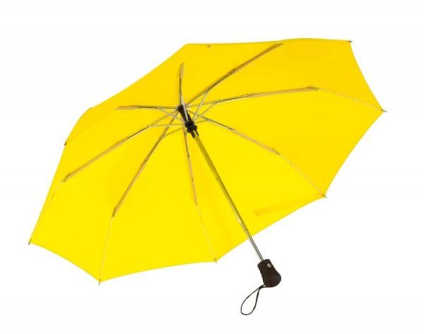 Windproof-Taschenschirm BORA in gelb
