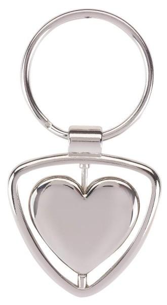 Schlüsselanhänger SPINNING HEART in Heart