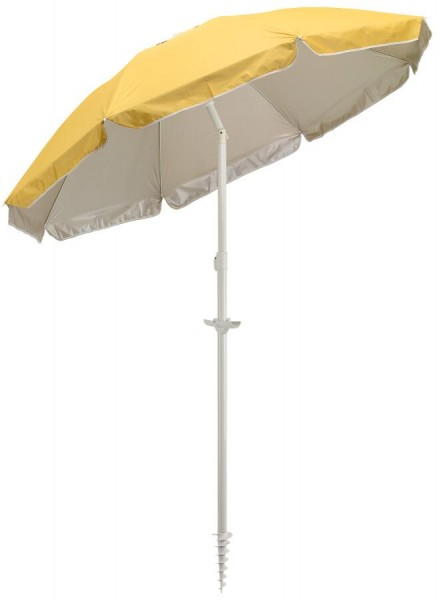 Strand- und Sonnenschirm BEACHCLUB in gelb