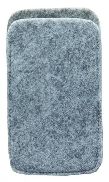 Polyesterfilz Smartphone-Tasche (Filzstärke: ca. 2,5 mm) - optional mit Siebdrucktransfer