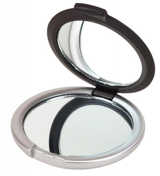 Kosmetikspiegel MAGNIFY in schwarz, silber
