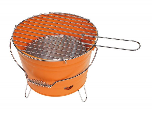 Grill-Eimer BUCKET in orange
