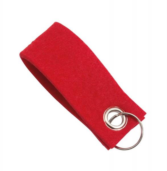 Schlüsselanhänger FELT in rot