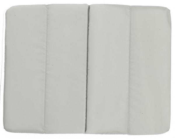 Sitzkissen faltbar - grau - optional mit Siebdrucktransfer
