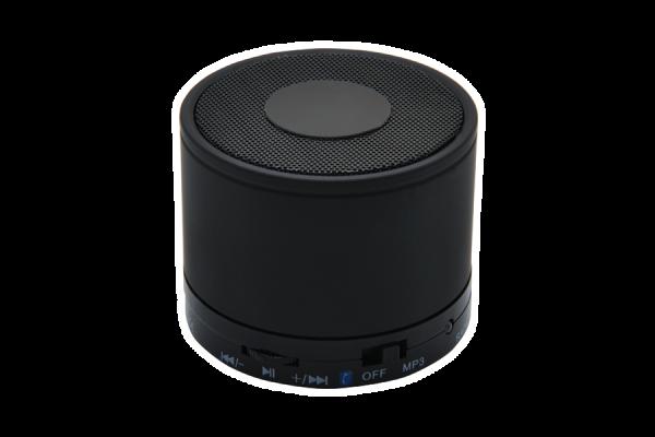 Kabelloser Mini-Lautsprecher 'Thunder Bay', schwarz