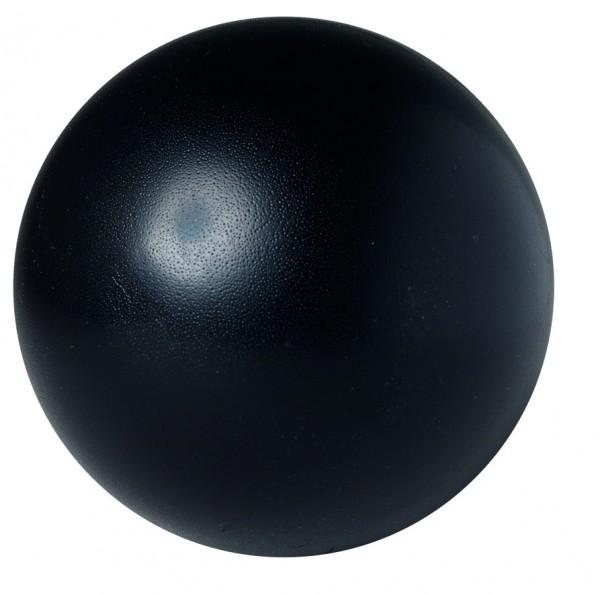 SQUEEZIES® Ball - schwarz (Größe: ca. 7 cm Durchmesser) - optional mit Tampondruck