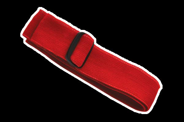 Elastisches Band für Stirnlampe 'Orkanger', rot