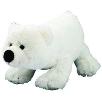Plüsch Eisbär Freddy, mittel - weiß (Größe: ca. 13 cm) - optional mit Siebdrucktransfer, Direkttrans