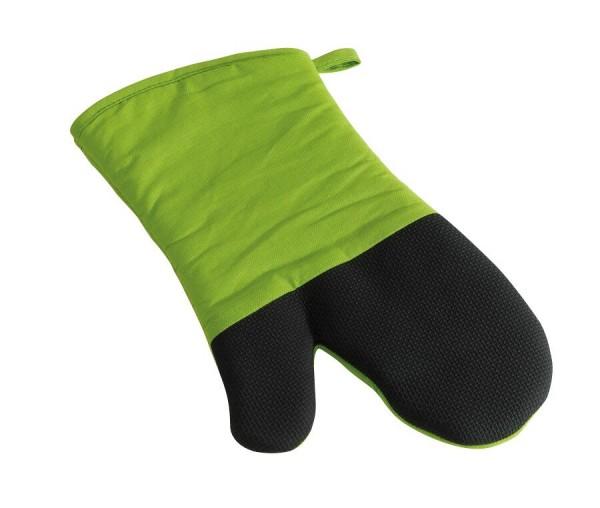 Grillhandschuh STAY COOL in schwarz, hellgrün