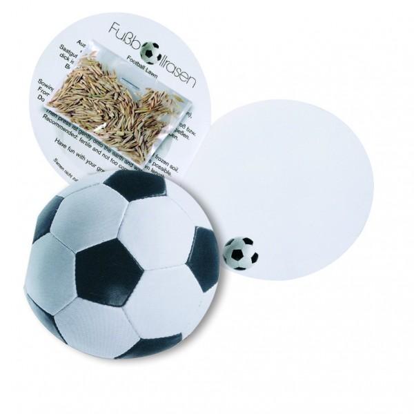 Klappkärtchen Fußball, Sportrasen, 1-4 c Digitaldruck inklusive