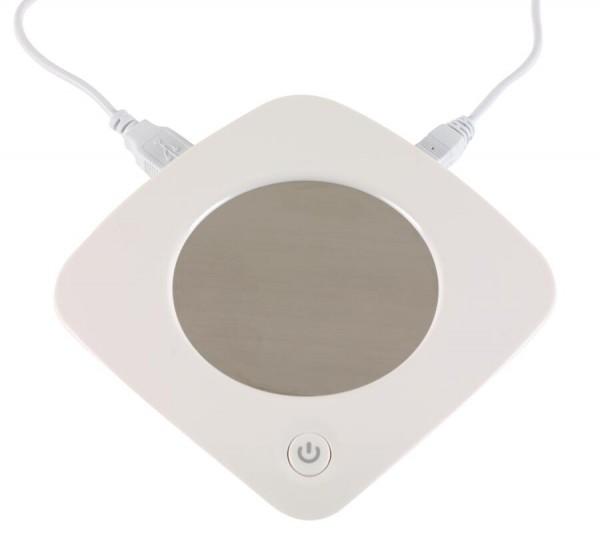 USB-Tassenwärmer HEAT IT in weiß