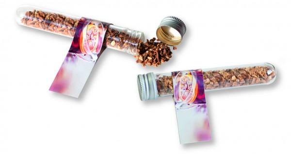 Reagenzglas Glühweingewürz, 1-4 c Digitaldruck inklusive