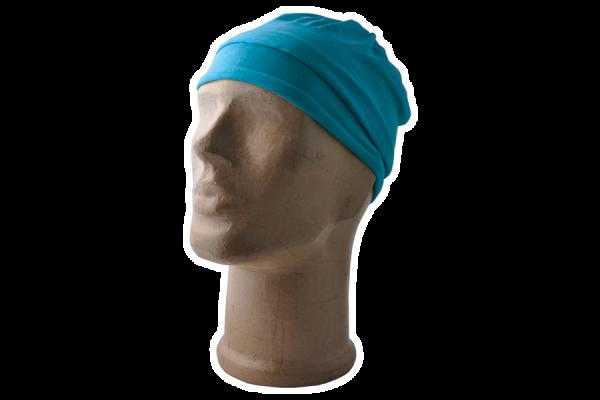 Multifunktions-Schal, azurblau