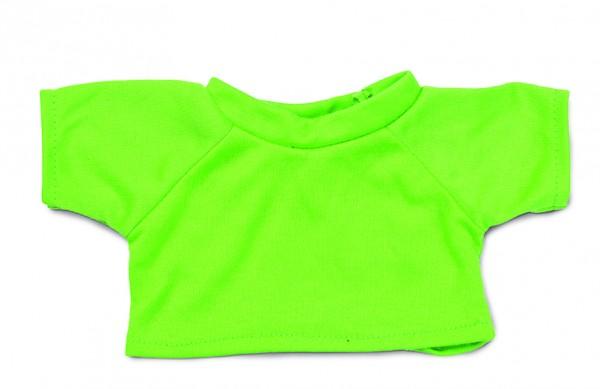 Mini-T-Shirt Gr. L - hellgrün (Größe: passend für Plüschtiere) - optional mit Siebdrucktransfer