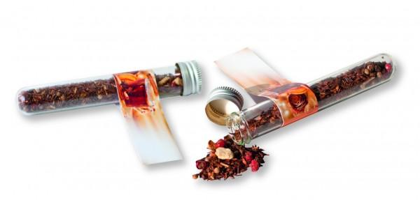 Reagenzglas Tee, 1-4 c Digitaldruck inklusive