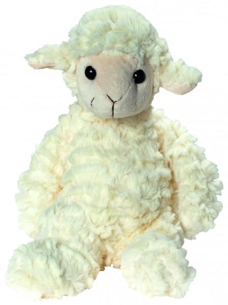 Plüsch Schaf Annika - wollweiß (Größe: ca. 28 cm) - optional mit Siebdrucktransfer, Direkttransfer