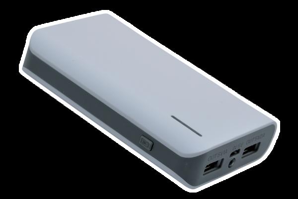 Powerbank S6600, Weiß