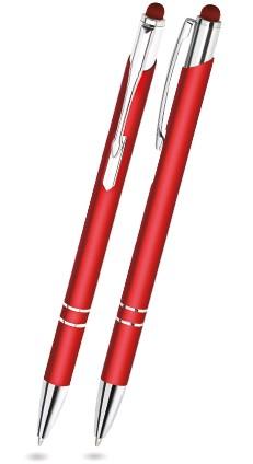 LEONIE TOUCH Roter Metallkugelschreiber