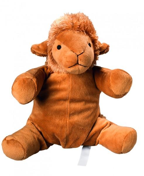 Plüsch Kamel für Wärmekissen - braun (Größe: ca. 25 cm) - optional mit Tampondruck, Siebdrucktransfe