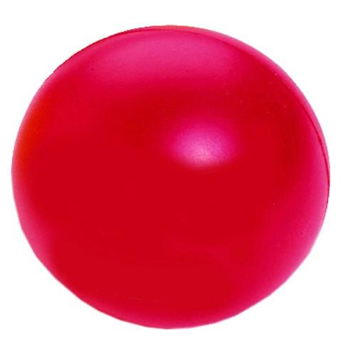 SQUEEZIES® Ball - rot (Größe: ca. 7 cm Durchmesser) - optional mit Tampondruck
