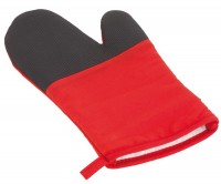 Grillhandschuh STAY COOL in rot, schwarz