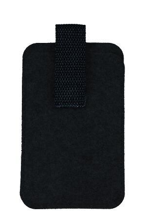 Wollfilz Smartphone Tasche mit pull-out (Filzstärke: 3 mm) - optional mit Siebdrucktransfer