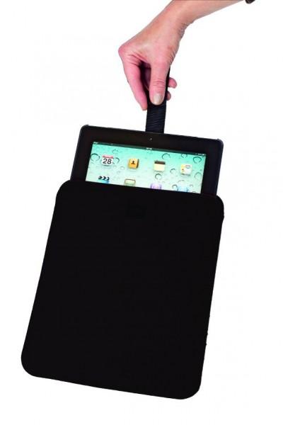Wollfilz Tablet-PC Tasche mit pull-out (Filzstärke: 3 mm) - optional mit Siebdrucktransfer