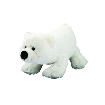 Plüsch Eisbär Freddy, groß - weiß (Größe: ca. 17 cm) - optional mit Siebdrucktransfer, Direkttransfe