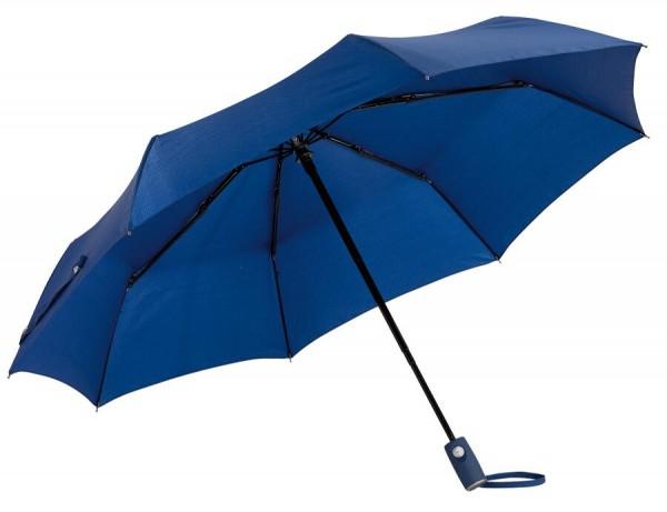 Vollautomatischer Windproof-Taschenschirm ORIANA in marineblau