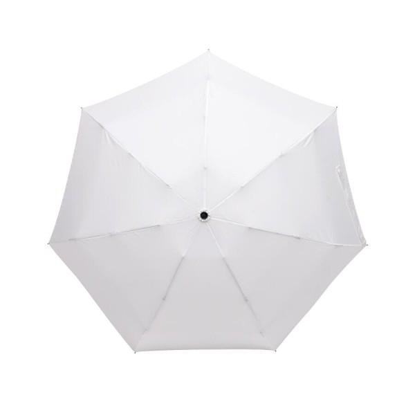 Aluminium-Taschenschirm SHORTY in weiß