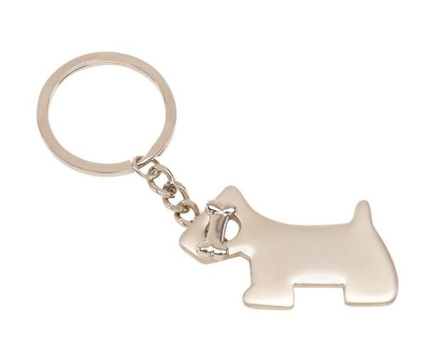 Schlüsselanhänger DOG in silber