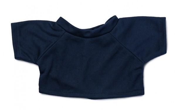 Mini-T-Shirt Gr. L - dunkelblau (Größe: passend für Plüschtiere) - optional mit Siebdrucktransfer