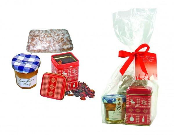 Tee-Tüte, 1-4 c Digitaldruck inklusive
