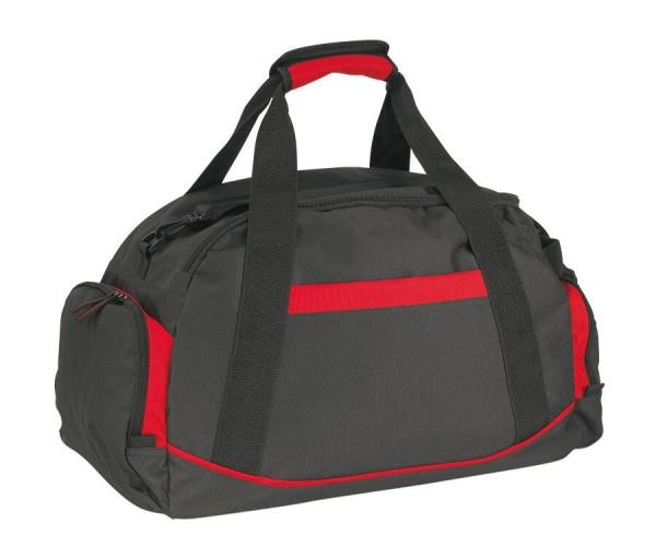 Sporttasche DOME in rot, schwarz