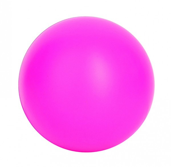 SQUEEZIES® Ball - pink (Größe: ca. 7 cm Durchmesser) - optional mit Tampondruck