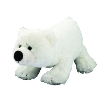 Plüsch Eisbär Freddy, klein - weiß (Größe: ca. 9 cm) - optional mit Siebdrucktransfer, Direkttransfe