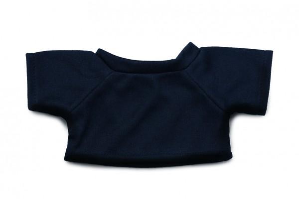 Mini-T-Shirt Gr. M - dunkelblau (Größe: passend für Plüschtiere) - optional mit Siebdrucktransfer
