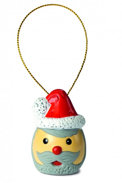 Weihnachtswichtel Weihnachtsmann - bunt (Größe: ca. 4 cm)