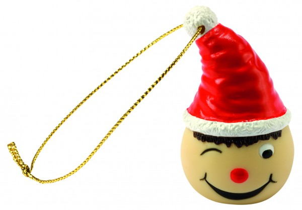 Wanderuper Weihnachtswichtel zwinkernd - bunt (Größe: ca. 4 cm)