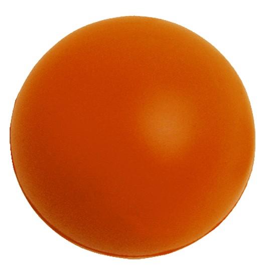 SQUEEZIES® Ball - orange (Größe: ca. 7 cm Durchmesser) - optional mit Tampondruck