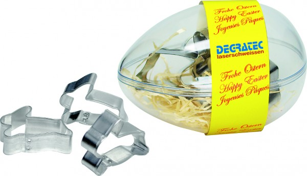 Hasen-Bäcker- EI, 1-4 c Digitaldruck inklusive