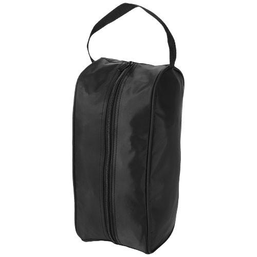 Portela Schuhtasche in schwarz mit Siebdruck