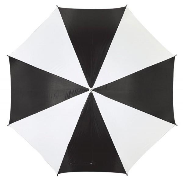 Golfschirm RAINY in schwarz, weiß