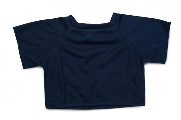 Mini-T-Shirt Gr. XL - dunkelblau (Größe: passend für Plüschtiere) - optional mit Siebdrucktransfer