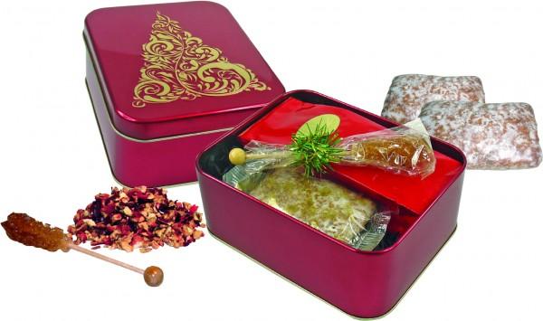 Geschenkbox Winterzauber - Individualisierung: Kartonbeilage