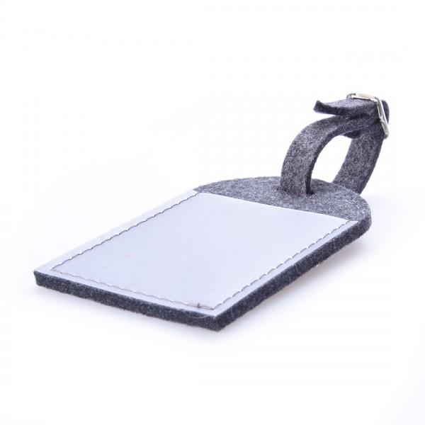 Kofferanhänger - Melodium - 3mm, 1lagig, Folientasche, ca. 7x11,5cm , verstellbares Riemchen